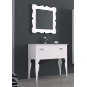 Мебель для ванной комнаты 90 см.  ART DECO 1