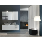 Мебель для ванной комнаты e.Ly comp. 03  L 145 x P 51 cм.