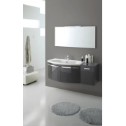 Мебель для ванной комнаты e.Ly comp. 06  L 130 x P 51 cм.