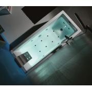 Акриловая ванна KUBIK 180х80 см.