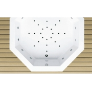 Акриловая ванна  MONICA 175х175 см.