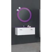 Мебель для ванной комнаты 90 см. ART DECO  2