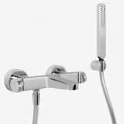Смеситель для ванны внешний Carlo Frattini NEXT хром