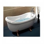 Акриловая ванна отдельно стоящая, на львиных лапах, Appollo 173х80 см.