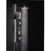 Душевой комплект термостатический внешний многофункциональный  Valentin CLIMAX хром