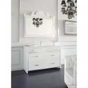 Мебель для ванной комнаты 120 см. Jurado ZAFIRO PLATA