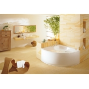 Стальная ванна KALDEWEI Punta Duo 3 140x140