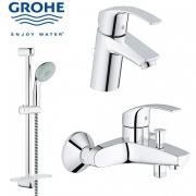 Набор смесителей для ванны Grohe EUROSMART